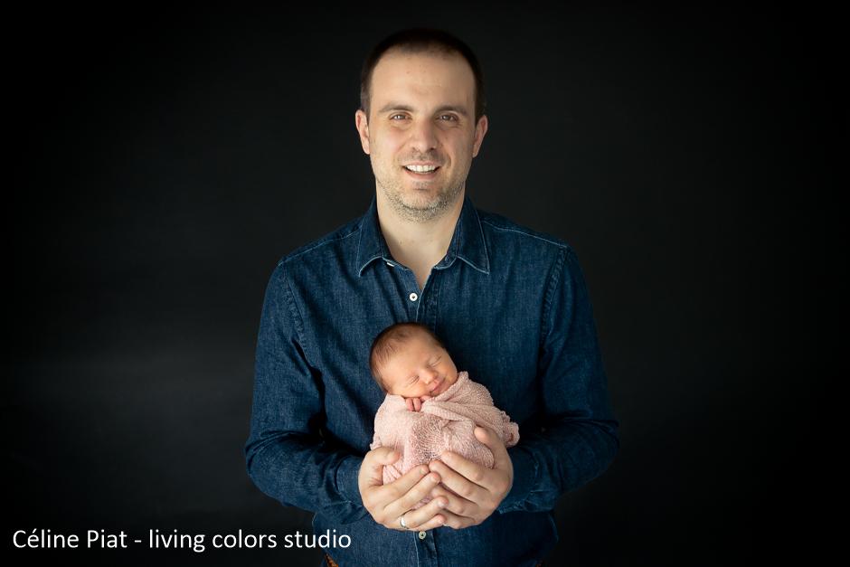 seance photo nouveau ne artistique nantes, celine piat photographe, living colors studio, photographe bebe nantes, photographe nouveau ne